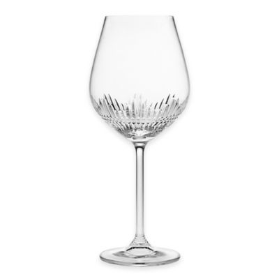 Top Shelf Facets Crystal Wine Glasses (Set of 4)