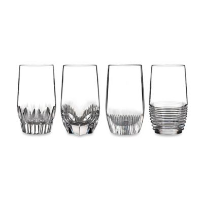 Waterford® Mixology Highball Glasses in Clear (Set of 4)