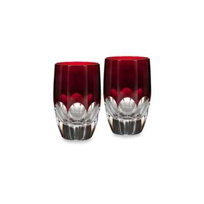 Waterford® Mixology Talon Red Shot Glass (Set of 2)