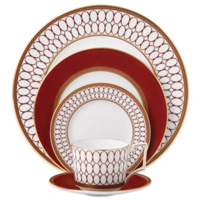 Wedgwood Renaissance Red 5-Piece Place Setting