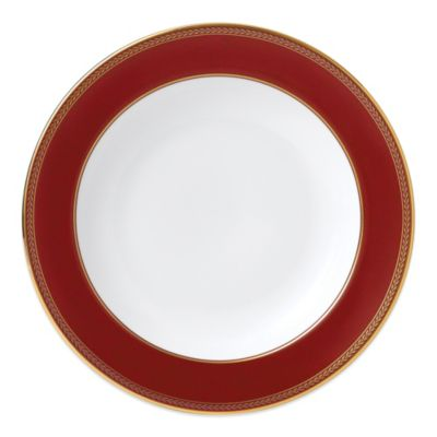 Wedgwood Renaissance Red 9-Inch Rim Soup Bowl