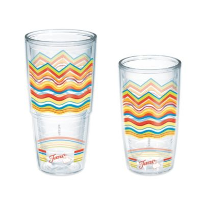 Tervis® Fiesta® Poppy Waves 24 oz. Wrap Tumbler