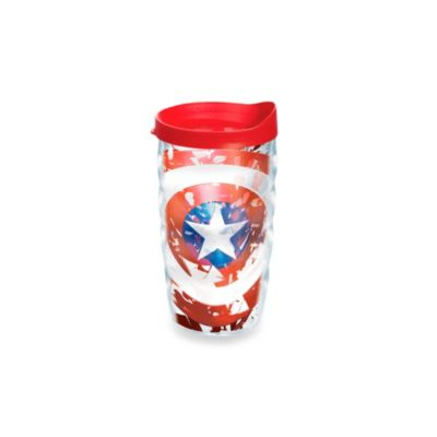 Tervis® Captain USA 10 oz. Wavy Wrap Tumbler with Lid