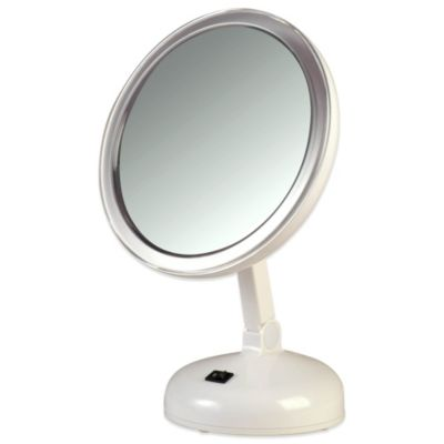 15xtra strong daylight lighted vanity mirror. Black Bedroom Furniture Sets. Home Design Ideas