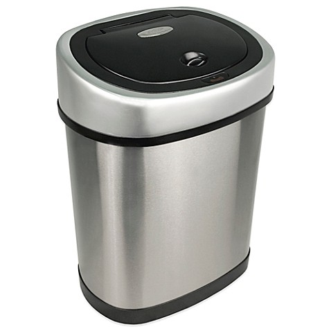 3.2 Gallon Motion Sensor Wastebasket - BedBathandBeyond.com