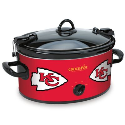 NFL Kansas City Chiefs Crock-Pot® Cook & Carry™ 6-Quart Slow Cooker