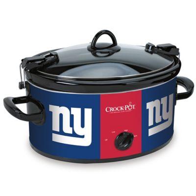 NFL New York Giants Crock-Pot® Cook & Carry™ 6-Quart Slow Cooker