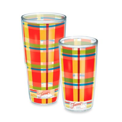 Tervis® Poppy Plaid Fiesta® 16 oz. Wrap Tumbler