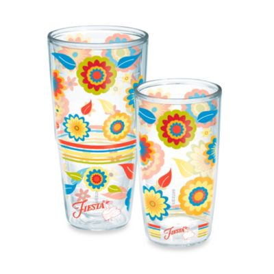 Flowers Insulated Tumblers