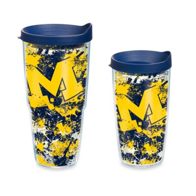 Tervis® University of Michigan 16-Ounce Splatter Wrap Tumbler with Lid