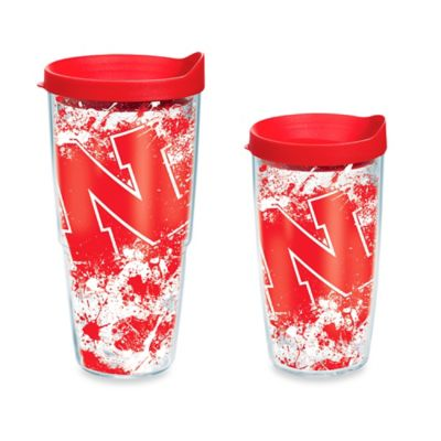 Tervis® University of Nebraska 16-Ounce Splatter Wrap Tumbler with Lid