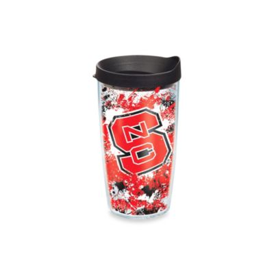 Tervis® North Carolina State University 16-Ounce Splatter Wrap Tumbler with Lid