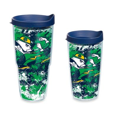 Tervis® University of Notre Dame 16-Ounce Splatter Wrap Tumbler with Lid