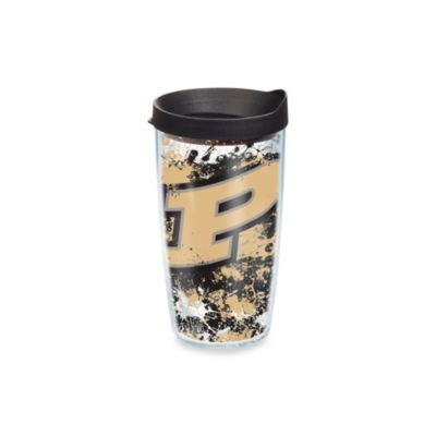 Tervis® Purdue University 16-Ounce Splatter Wrap Tumbler with Lid