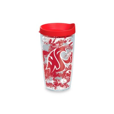 Tervis® Washington State University 16-Ounce Splatter Wrap Tumbler with Lid