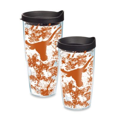 Tervis® University of Texas 16-Ounce Splatter Wrap Tumbler with Lid