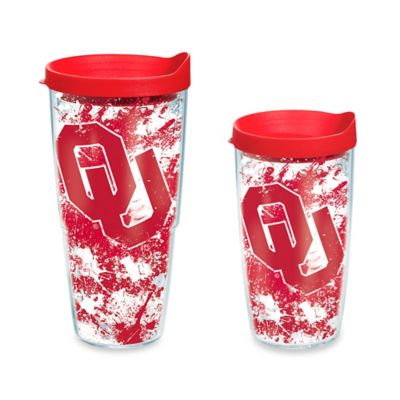 Tervis® University of Oklahoma Splatter 16-Ounce Wrap Tumbler with Lid