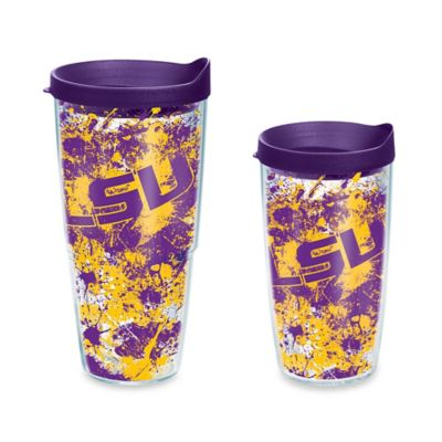 Tervis® Louisiana State University 16-Ounce Splatter Wrap Tumbler with Lid