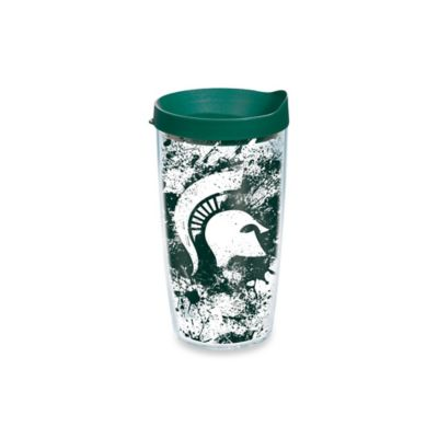 Tervis® Michigan State University 16-Ounce Splatter Wrap Tumbler with Lid