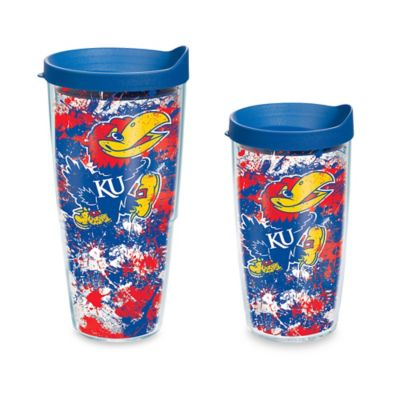 Tervis® University of Kansas 16-Ounce Splatter Wrap Tumbler with Lid