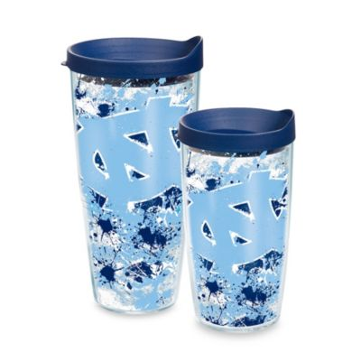 Tervis® University of North Carolina 16-Ounce Splatter Wrap Tumbler with Lid