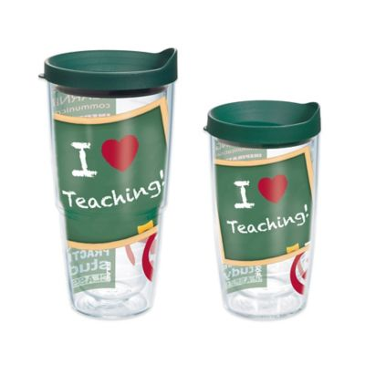 Teacher 16 Oz. Wrap Tumbler with Lid