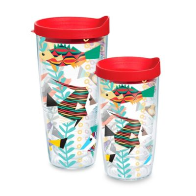 Tervis® Fish Pattern 16-Ounce Wrap Tumbler with Lid