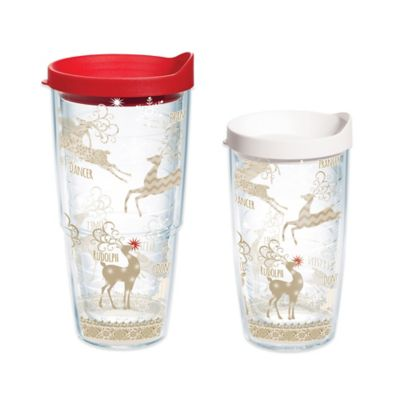 Tervis® Traditional Reindeer 24-Ounce Wrap Tumbler with Lid