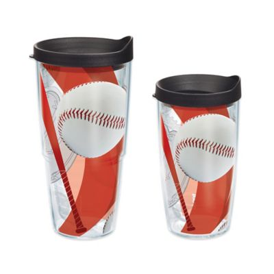 Tervis® Baseball Theme 16 oz. Wrap Tumbler with Lid