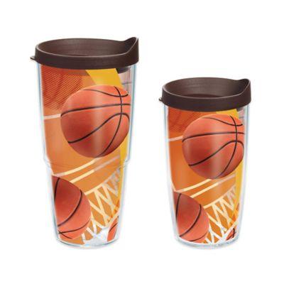 Tervis® Basketball Theme 16 oz. Wrap Tumbler with Lid