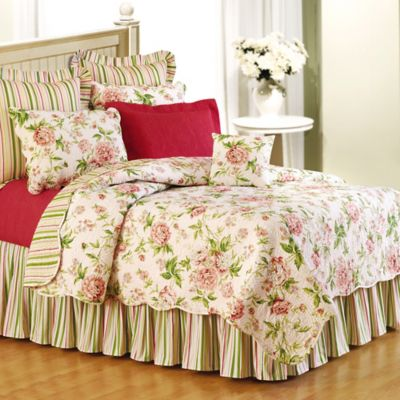 Pink Brianna Reversible Twin Quilt