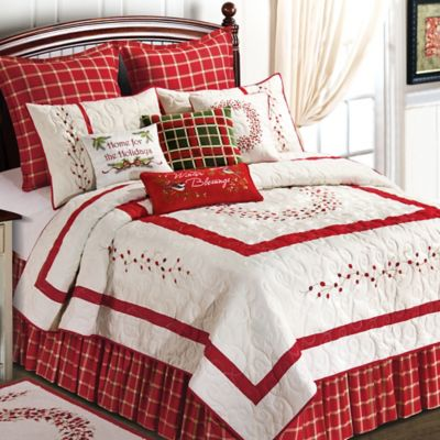 Berry Wreath Standard Pillow Sham