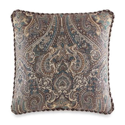 Croscill® Zarina Reversible Square Throw Pillow