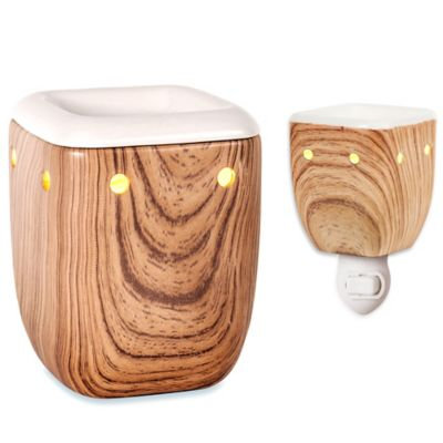 Aalborg Large Birch Accent Wax Warmer
