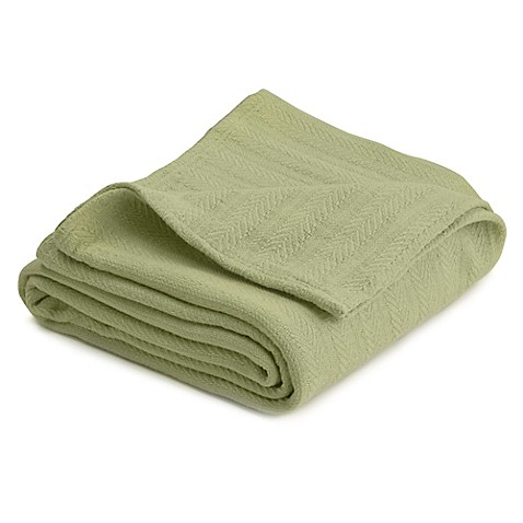 Buy vellux cotton king blanket in winter pear from bed for Vellux blanket