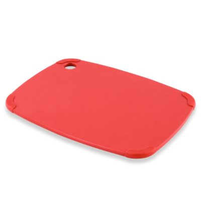 Epicurean Eco Plastic Cutting Board in Red