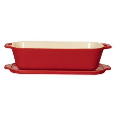 Staub 1.65-Quart Terrine in Cherry Red