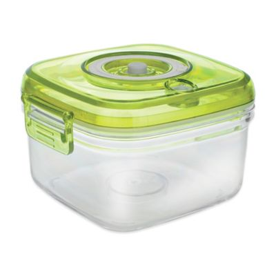 Vacucraft 1.5 Quart Vacuum Seal Food Container