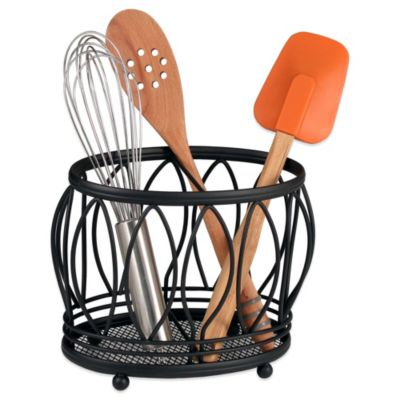 Black Cooking Utensils & Holders