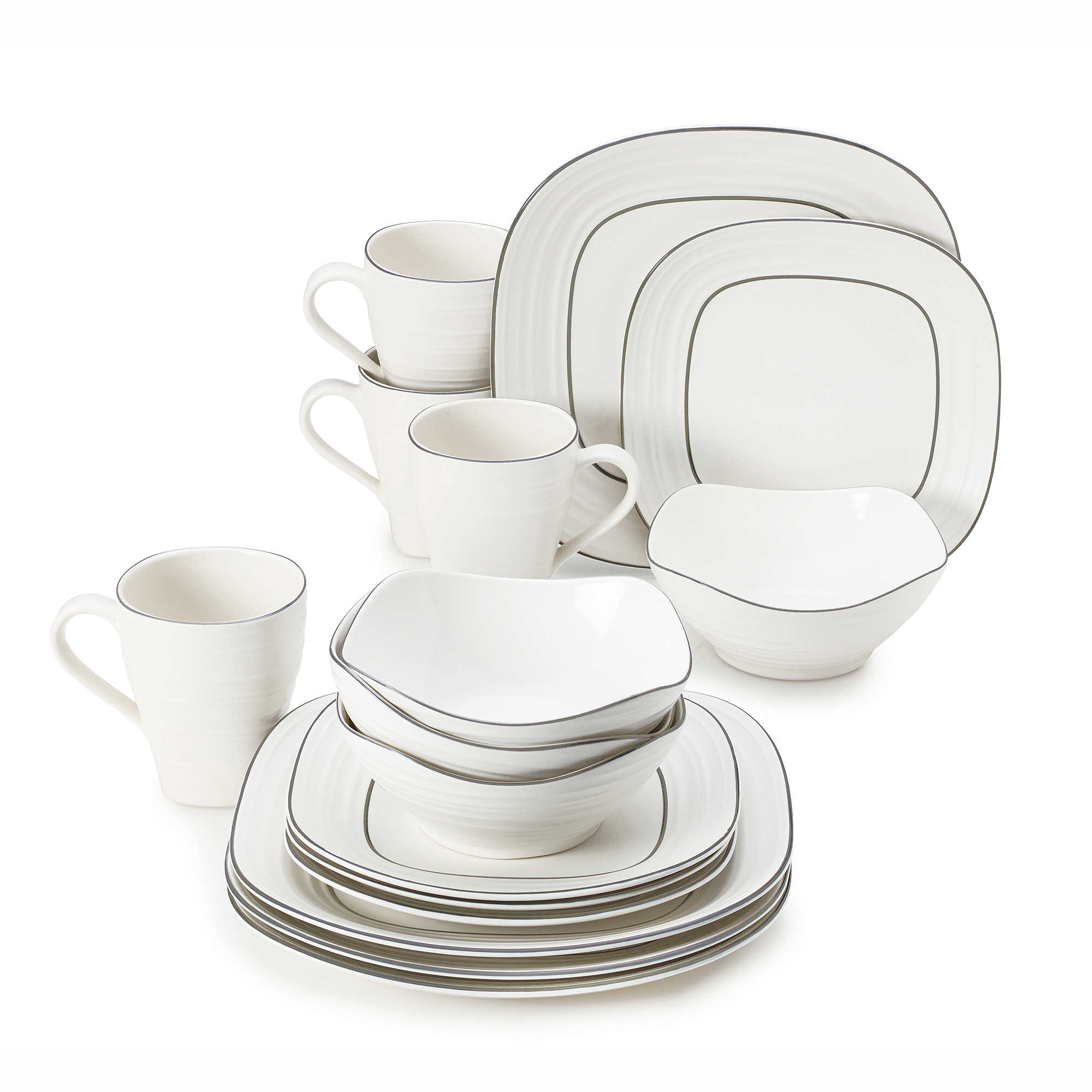 cheap square dinnerware sets square dinnerware set in