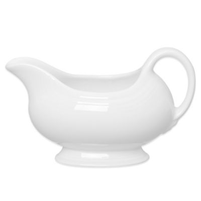Sauce Boat in White