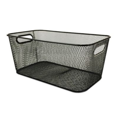 Mesh Containers for Storage