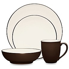 Noritake® Colorwave Coupe Dinnerware in Chocolate