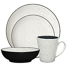 Noritake® Colorwave Graphite Bloom Dinnerware