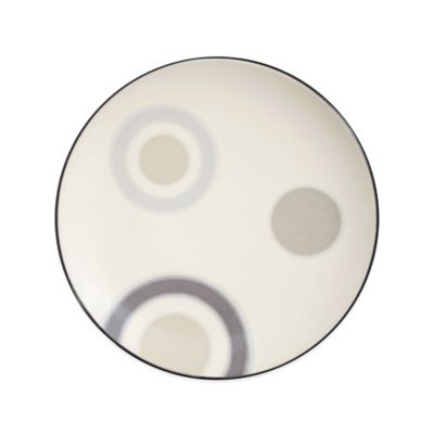 Noritake® Colorwave Circles Accent Plate in Graphite