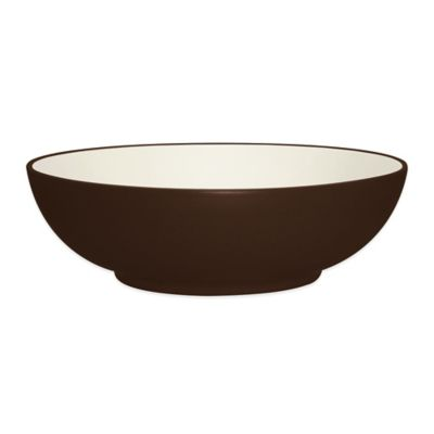 Noritake® Colorwave Round Vegetable Bowl in Chocolate