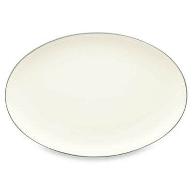 Noritake® Colorwave Oval Platter in Green
