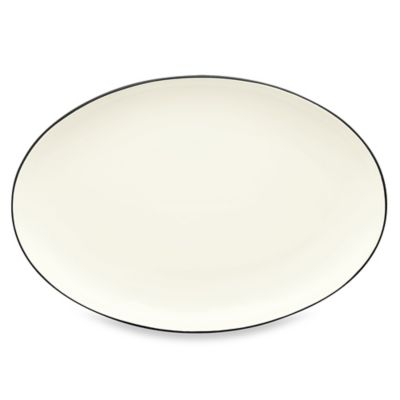 Noritake® Colorwave Oval Platter in Graphite