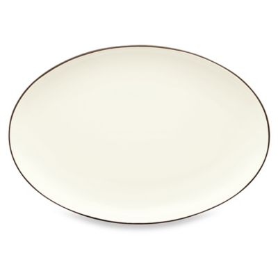 Noritake® Colorwave 16-Inch Oval Platter in Chocolate