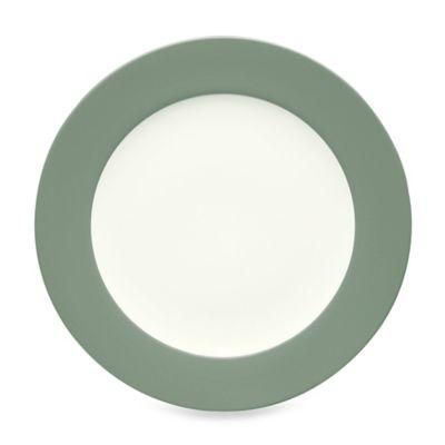 Colorwave Rim Platter in Green